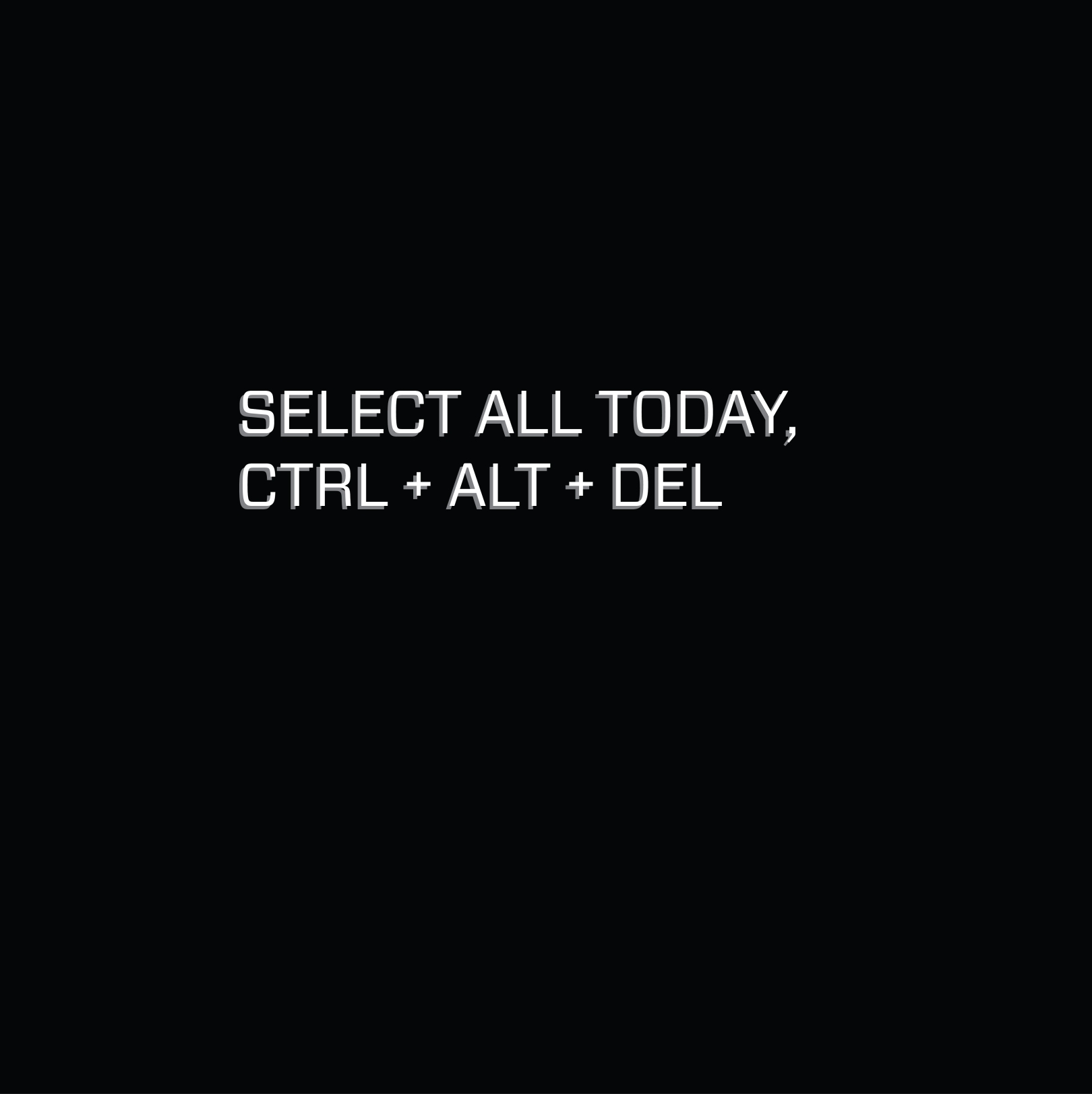 select today